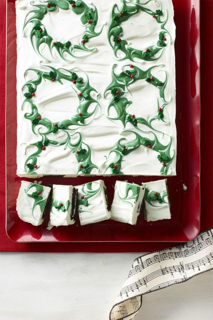 pasteles navideños decorados con mucho encanto, recetas navideñas faciles y rápidas en fotos
