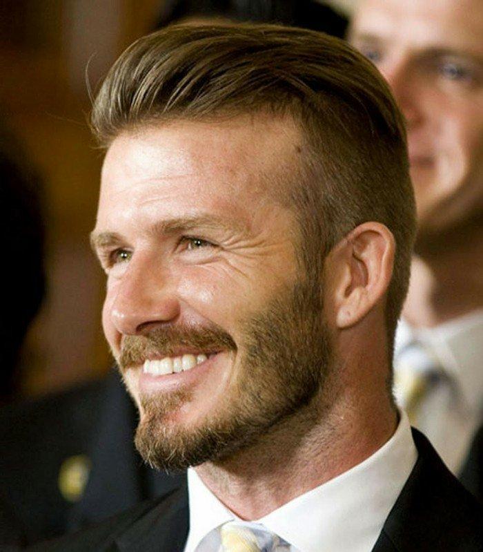 cortes de pelo modernos hombres, últimas tendencias en cortes y peinados para hombres, cabello con larga franja hacia atrás