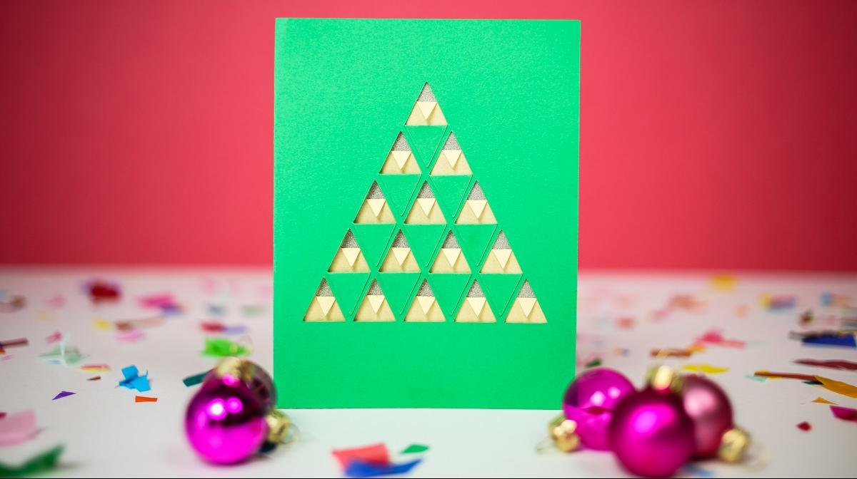 1001 Ideas De Tarjetas Navidenas Originales Para Hacer En Casa - Como-hacer-postales-de-navidad-originales
