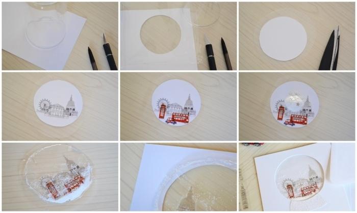 ingeniosas propuestas de postales de navidad originales para hacer en casa con tutoriales paso a paso