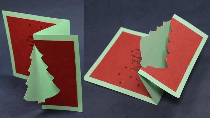 originales propuestas de tarjetas de felicitacion de navidad 3 D, detalles navideños para regalar a tus amigos