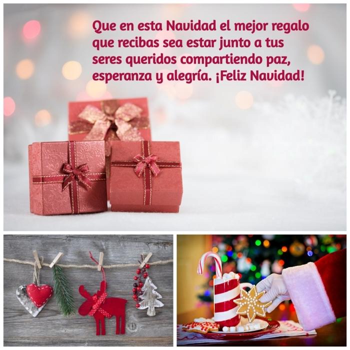 felicitaciones de navidad originales y bonitas para tus seres queridos, collage de Navidad para descargar gratis