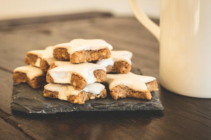 imagines navideñas que enamoran, galletas de jengibre con glaseado real, fotos para enviar