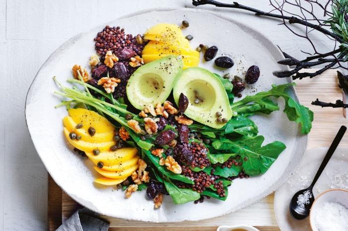 recetas ensaladas originales y exoticas para toda la familia en Navidad, recetas de ensaladas con frutas y verduras