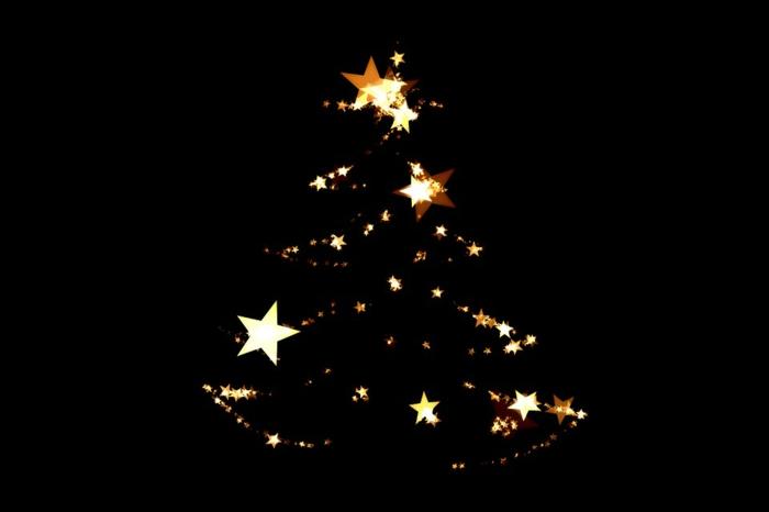 bonito árbol de navidad, alternativas al arbol navideño ecológicas, postales de navidad originales