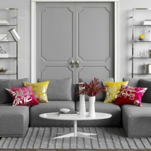 Salón en gris y blanco, ¡una maravilla! Aquí tienes 82 fotos que lo comprueban