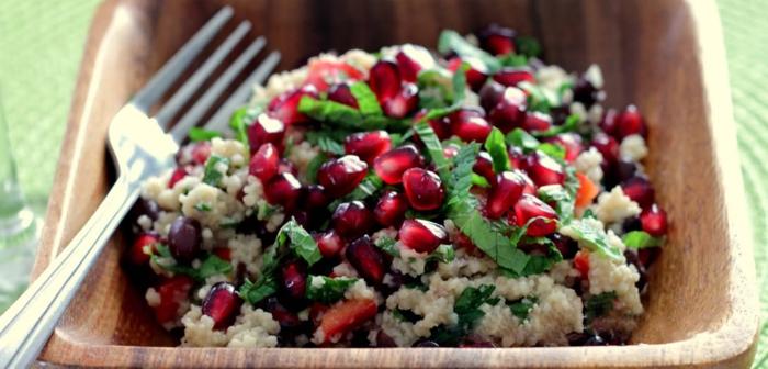 ejemplos de recetas navideñas sencillas de ensaladas saludables para comer en familia