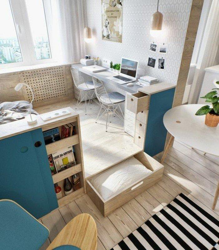 espacios compartidos, decoración de pisos modernos, como decorar un salon paso a paso