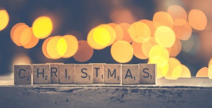 paisajes de navidad muy bonitos para imprimir y regalar a un ser querido, Navidad con luces