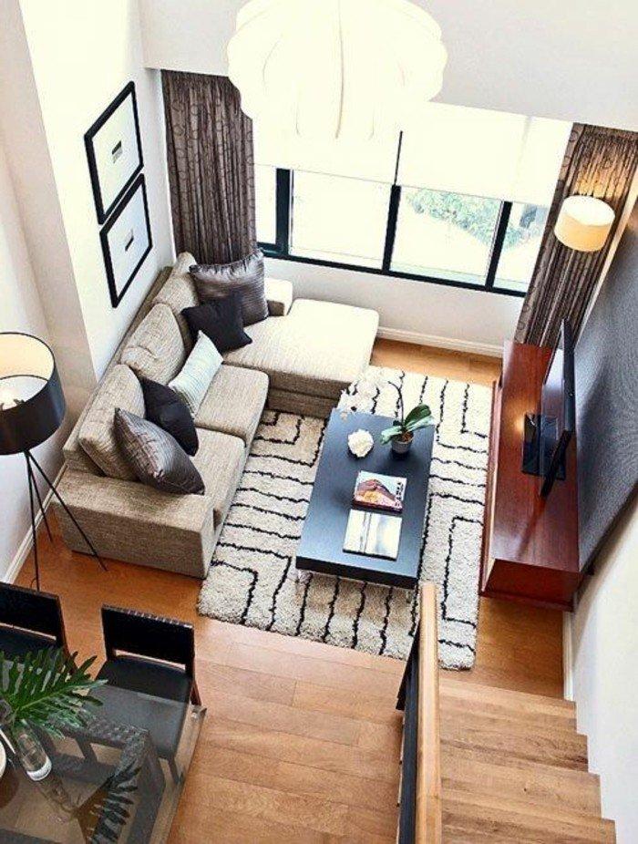 trucos y consejos sobre la decoracion de salones pequeños, espacios pequeños decorados con mucho encanto