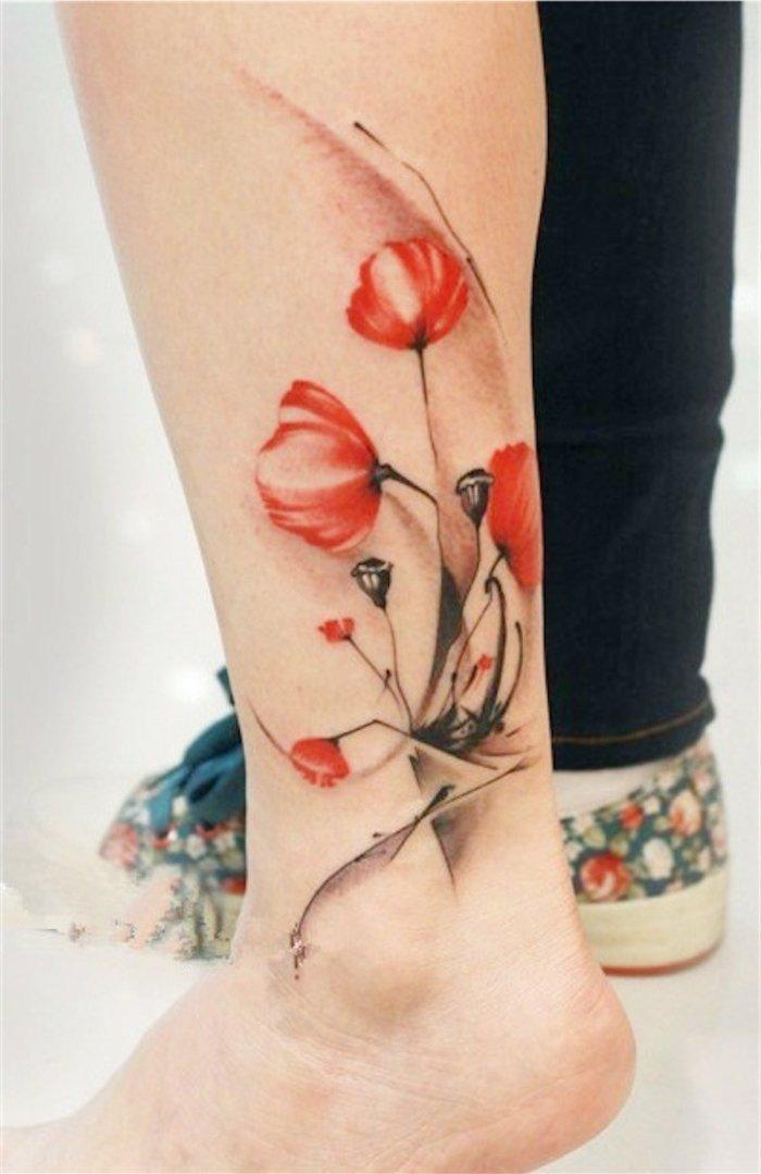 las mejores propuestas de tattoos con flores y significado de las flores, diseños bonitos para mujeres