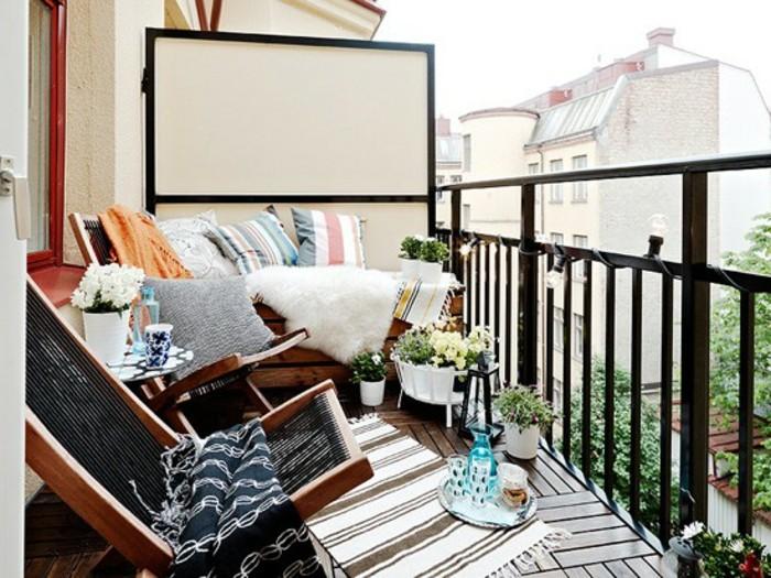 ideas sobre cómo organizar una terraza pequeña para aprovechar el espacio, decoracion terrazas pequeñas 2019