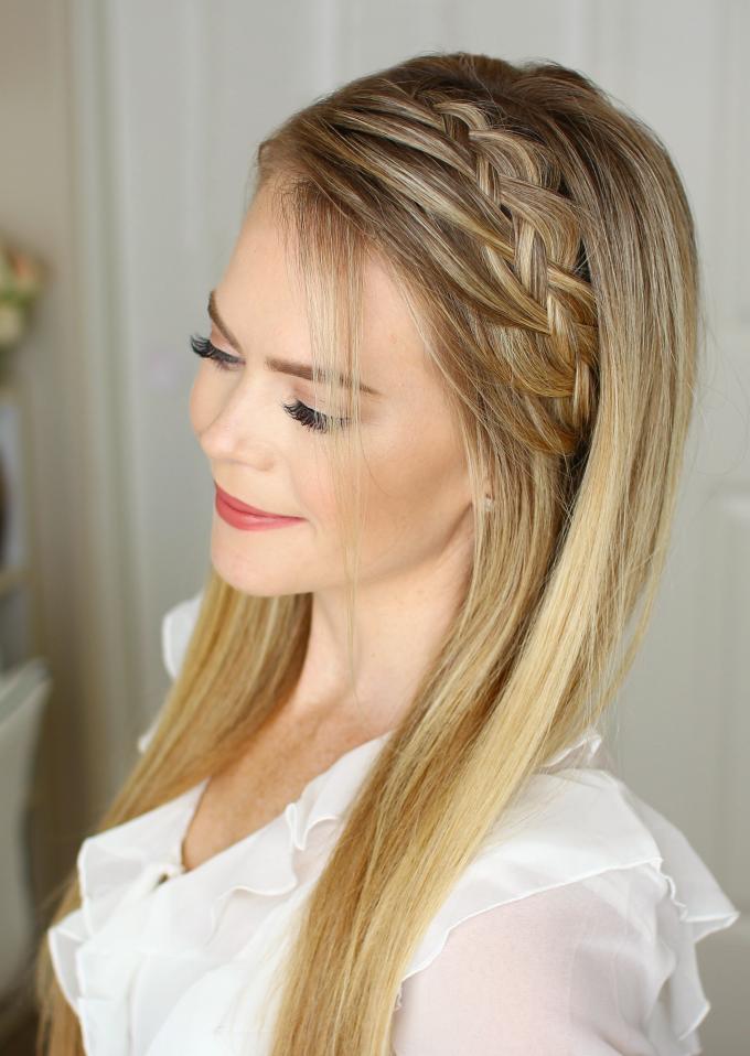 bonitas ideas de peinados pelo suelto con trenzados, peinados y recogidos elegantes para bodas y ocasiones especiales