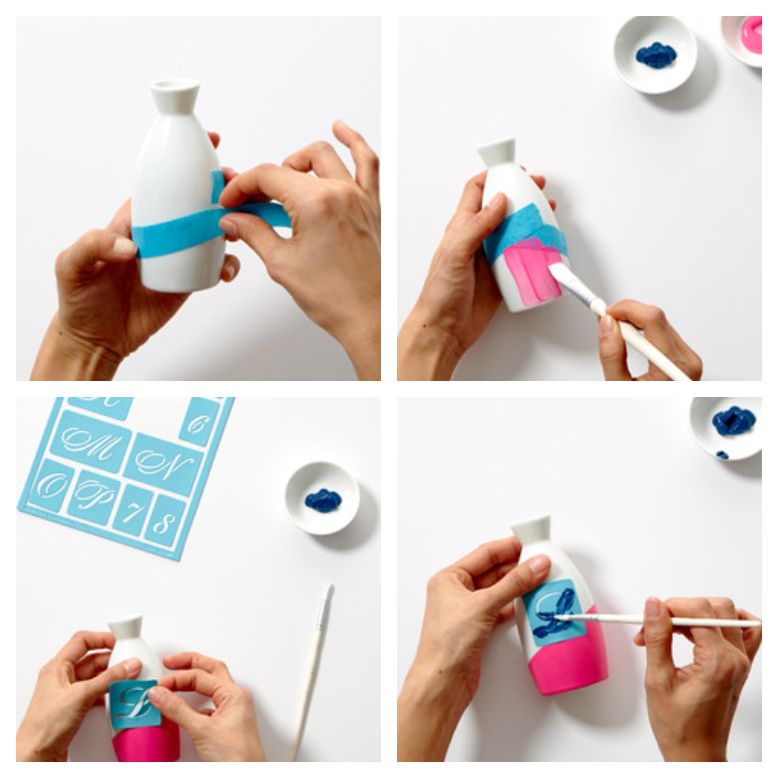 como hacer un jarron casero decorado con fieltro paso a paso, ideas de regalos san valentin hechos a mano