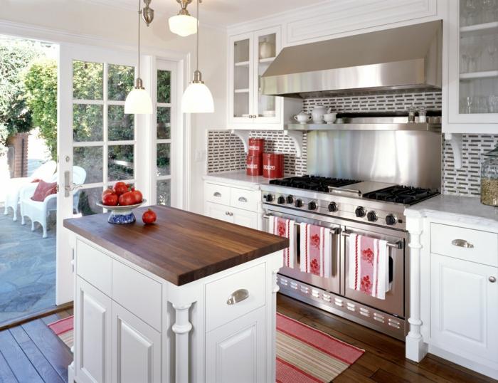 cocinas con isla decoradas en estilo moderno, ideas sobre cómo aprovechar el espacio en una cocina