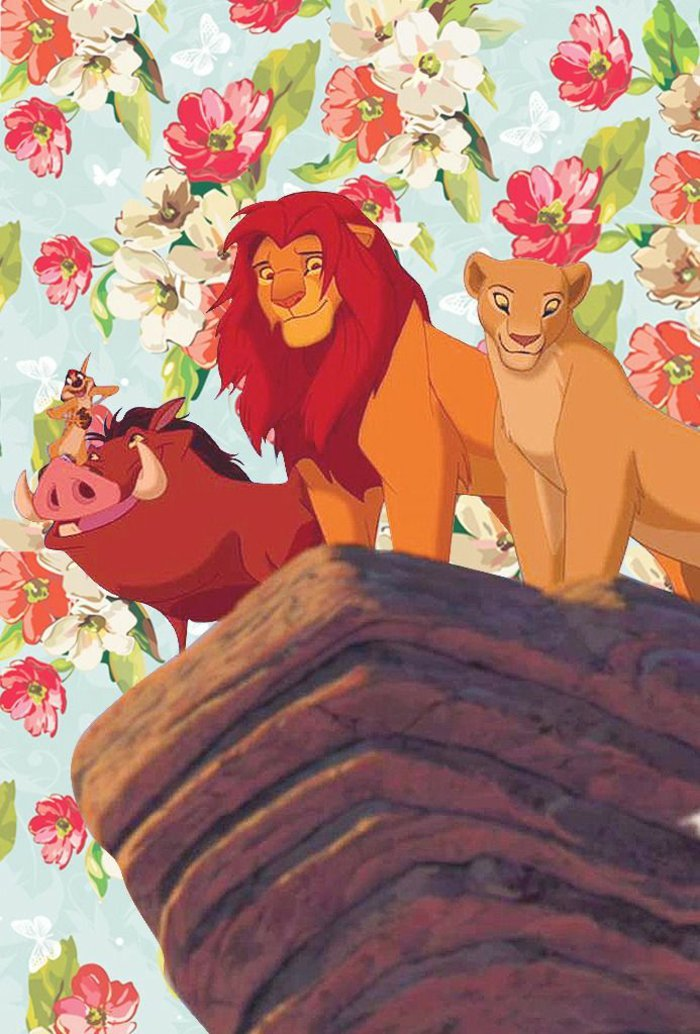 fotos para fondos de pantalla que provocan nostalgia, el Rey León y sus amigos en imagen