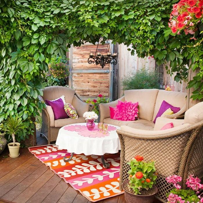 balcones decorados de tamaño pequeño, fotos de decoración de terraza que inspiran