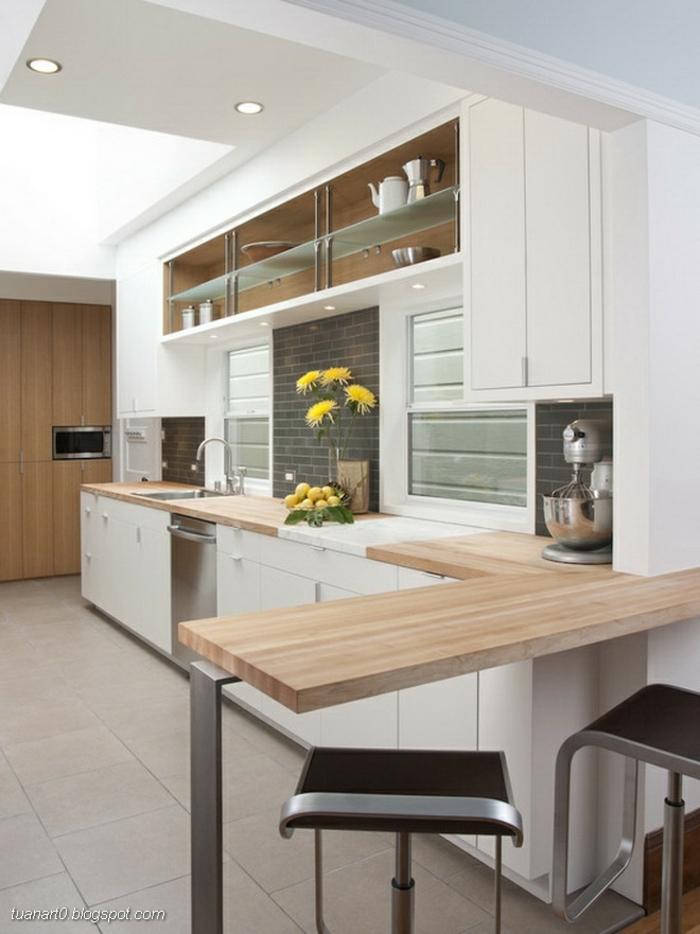 cocinas modernas alargadas, diseños de cocinas blancas pequeñas e ideas sobre cómo aprovechar el espacio