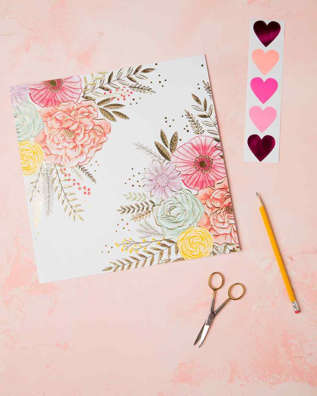 materiales necesarios para hacer un sobre bonito para carta de amor, regalos san valentin hechos a mano