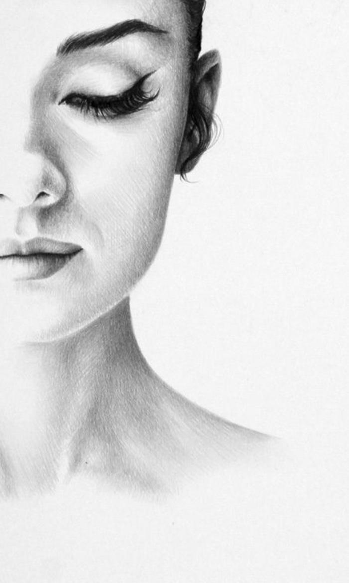 mágicos retratos hiperrealistas de mujeres, como dibujar una niña paso a paso, dibujos para descargar