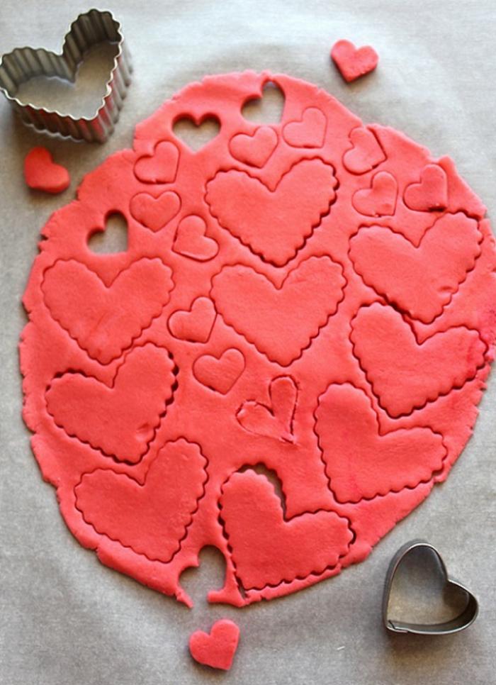 ideas originales de postres para San Valentín, fotos de recetas san valentin, caremelos de azúcar