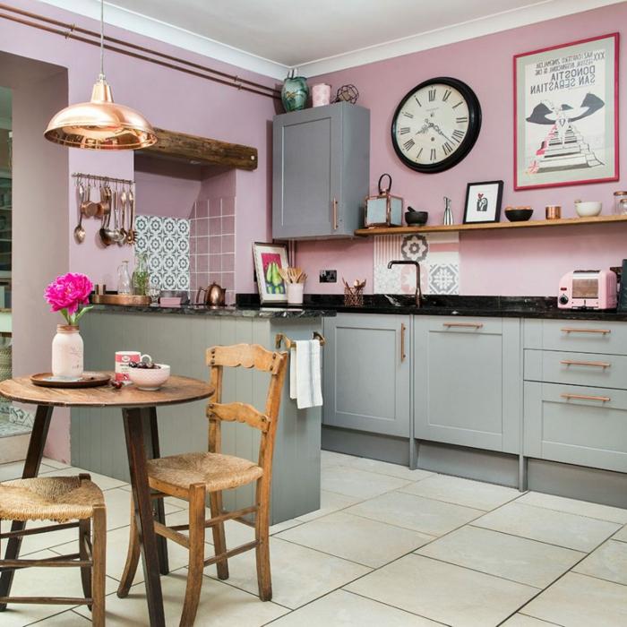 decoracion de interiores en colores modernos, cocinas modernas pequeñas con isla en imagines