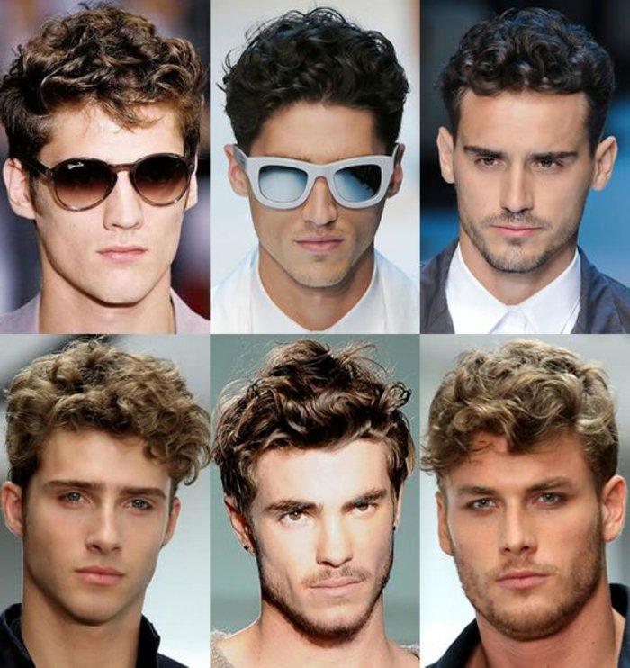 seis magníficas propuestas de cortes de pelo hombre 2017, cabello corto rizado hombre en fotos