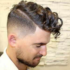 63 consejos para los hombres con pelo rizado. Los cortes de pelo de 2017