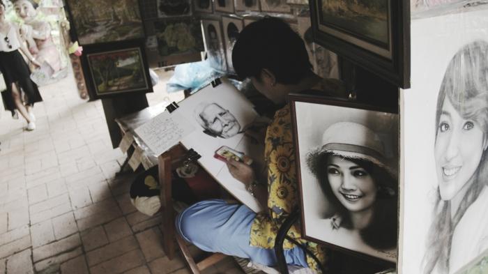 artistas que inspiran, retratos de mujeres realistas, bonitas ideas de dibujos a lapiz faciles y bonitos