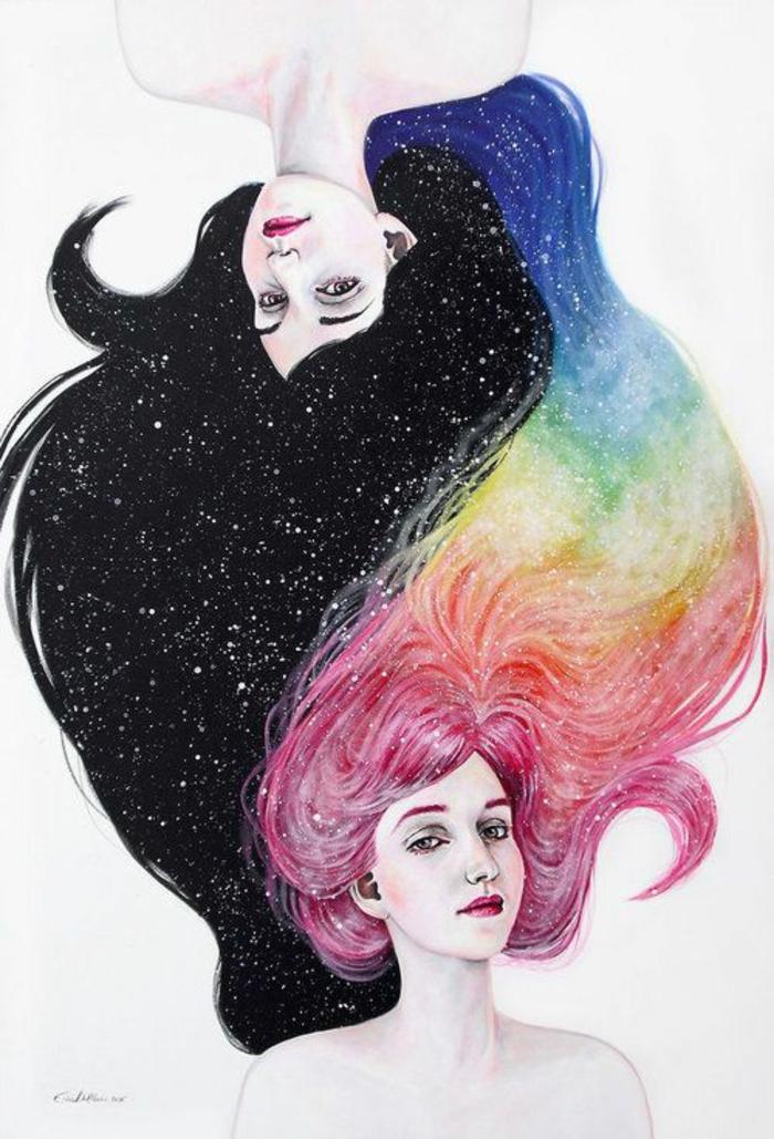 coloridos dibujos con fuerte significado, dibujos de niñas para colorear, más de 110 dibujos