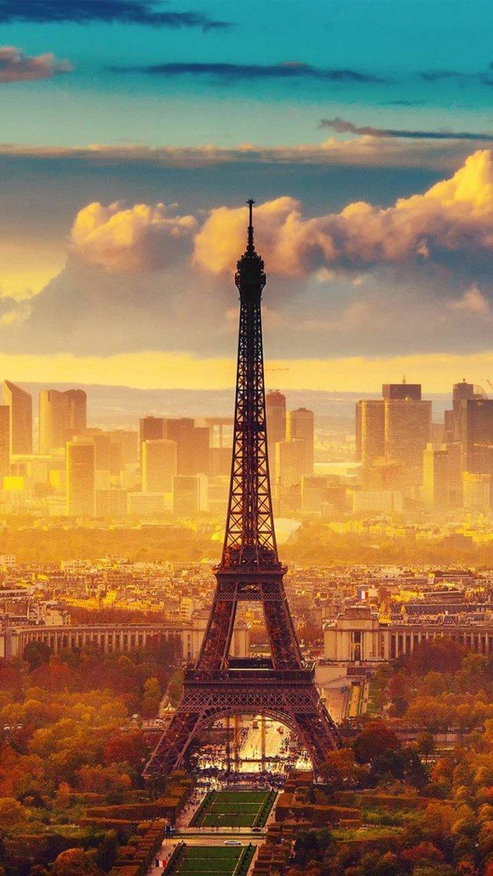 las mejores imagines para tu teléfono, fondos de iphone, la torre Eifel, bonitos paisajes en fotos