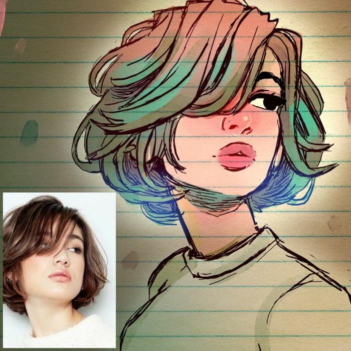 cómo hacer un retrato de una foto, dibujos de niñas para colorear que puedes descargar