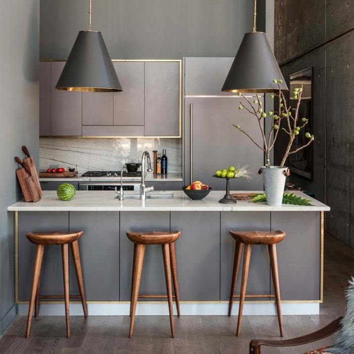diseño de interiores en colores modernos, cocinas de diseño pequeñas, ideas de cocinas modernas pequeñas