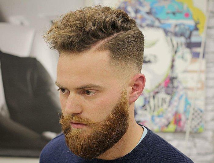 ideas de peinados hombre 2017 en bonitas imagines, corte de cabello en estilo hipster