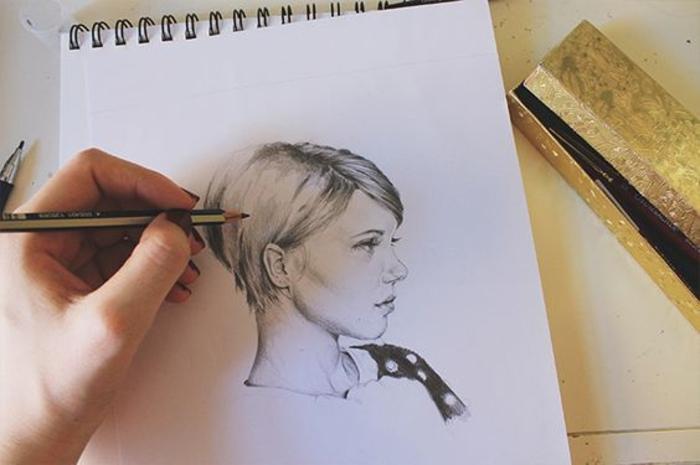ideas sobre cómo dibujar una mujer, dibujos bonitos y consejos para principiantes en 110 imagines