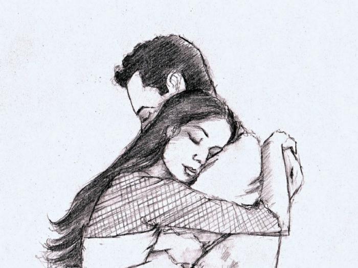 ideas de dibujos niño y niña que enamoran, imagines con dibujos descargables, dibujos románticos