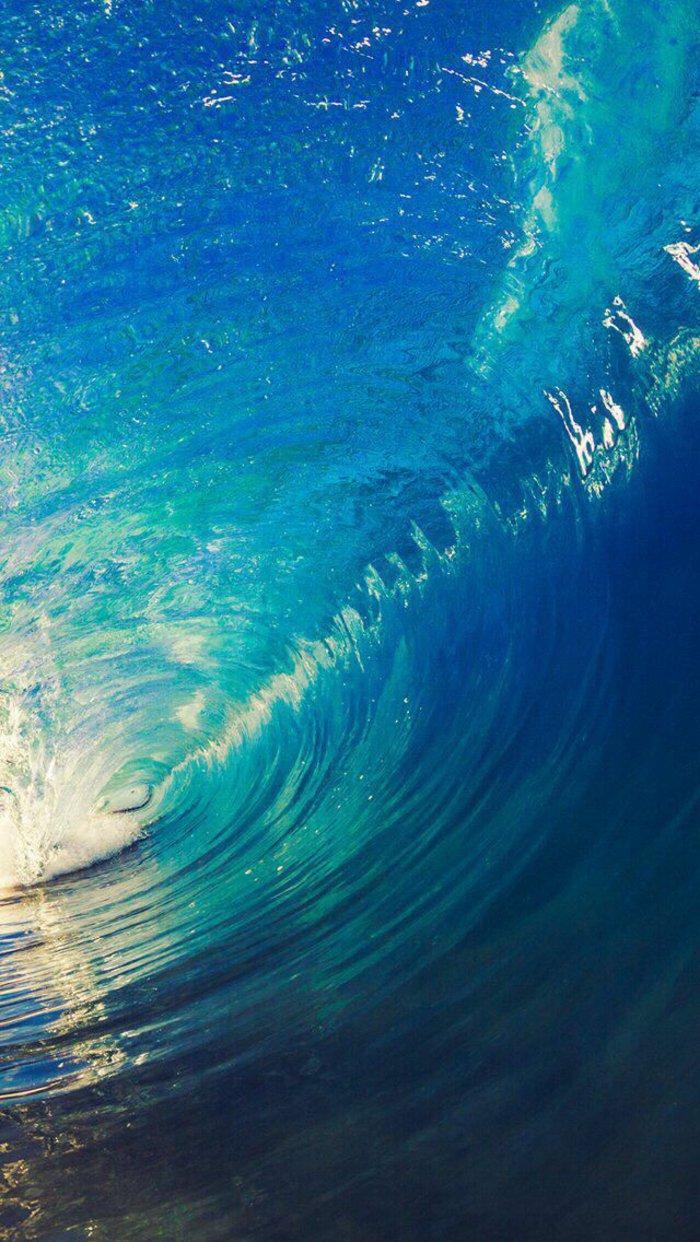 imagines que te dan una sensación de calma y hermosura, olas del mar, bonitas imagines gratis