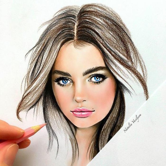 dibujos de niñas y mujeres descargables, más de 110 propuestas de dibujos inspiradores
