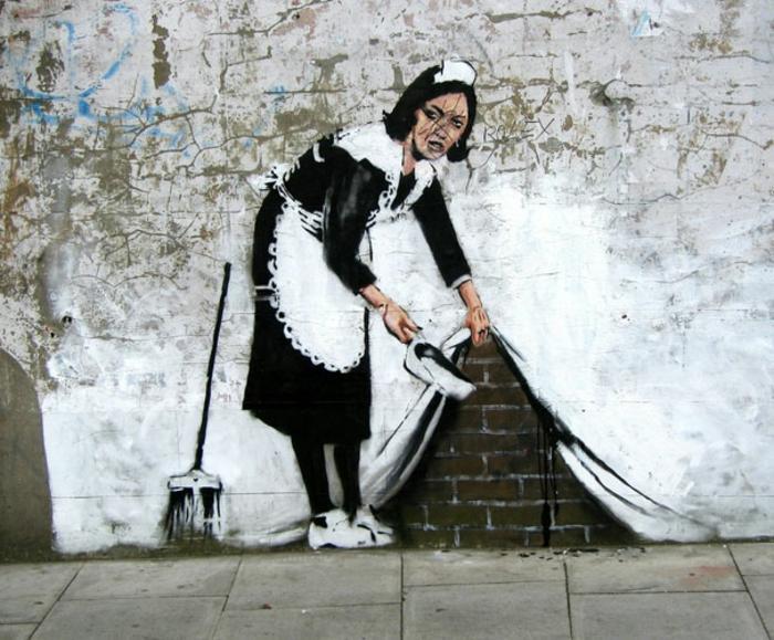 más de 110 inspiradoras propuestas de imagines de niñas y mujeres, pared dibujo mujer