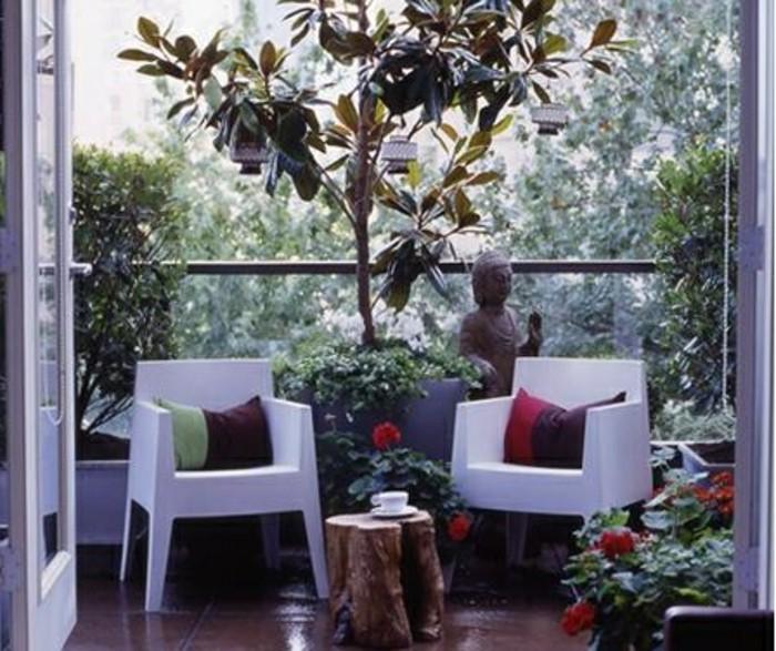 fotos de balcones pequeños decorados según las últimas tendencias, terrazas en estilo shabby chic