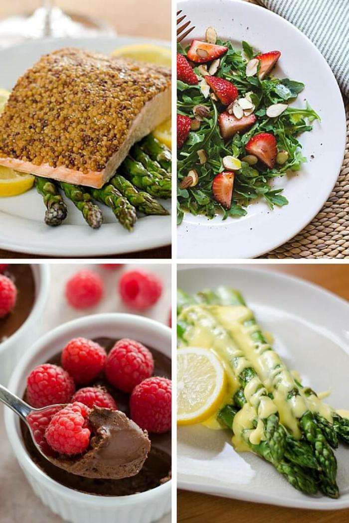 recetas faciles para cenar en pareja, saludables propuestas par un menú para San Valentín