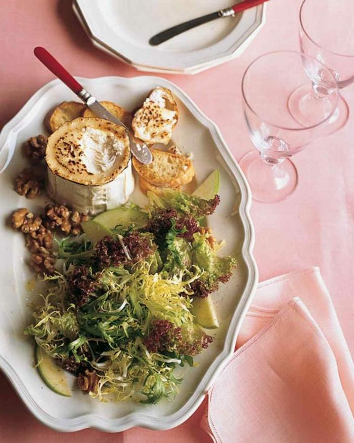 recetas ricas y exquisitas, ejemplos de recetas faciles para cenar en pareja, queso camembert al horno