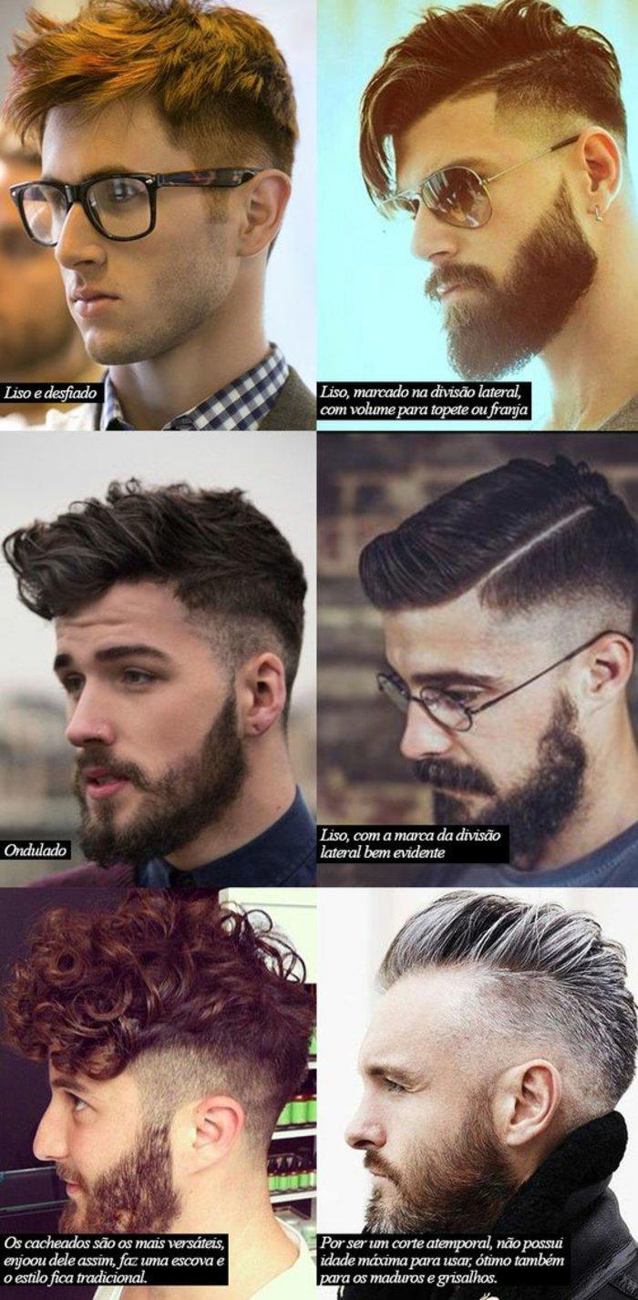 seis propuestas corte de pelo hombre degradado, imagines de cortes de pelo modernos
