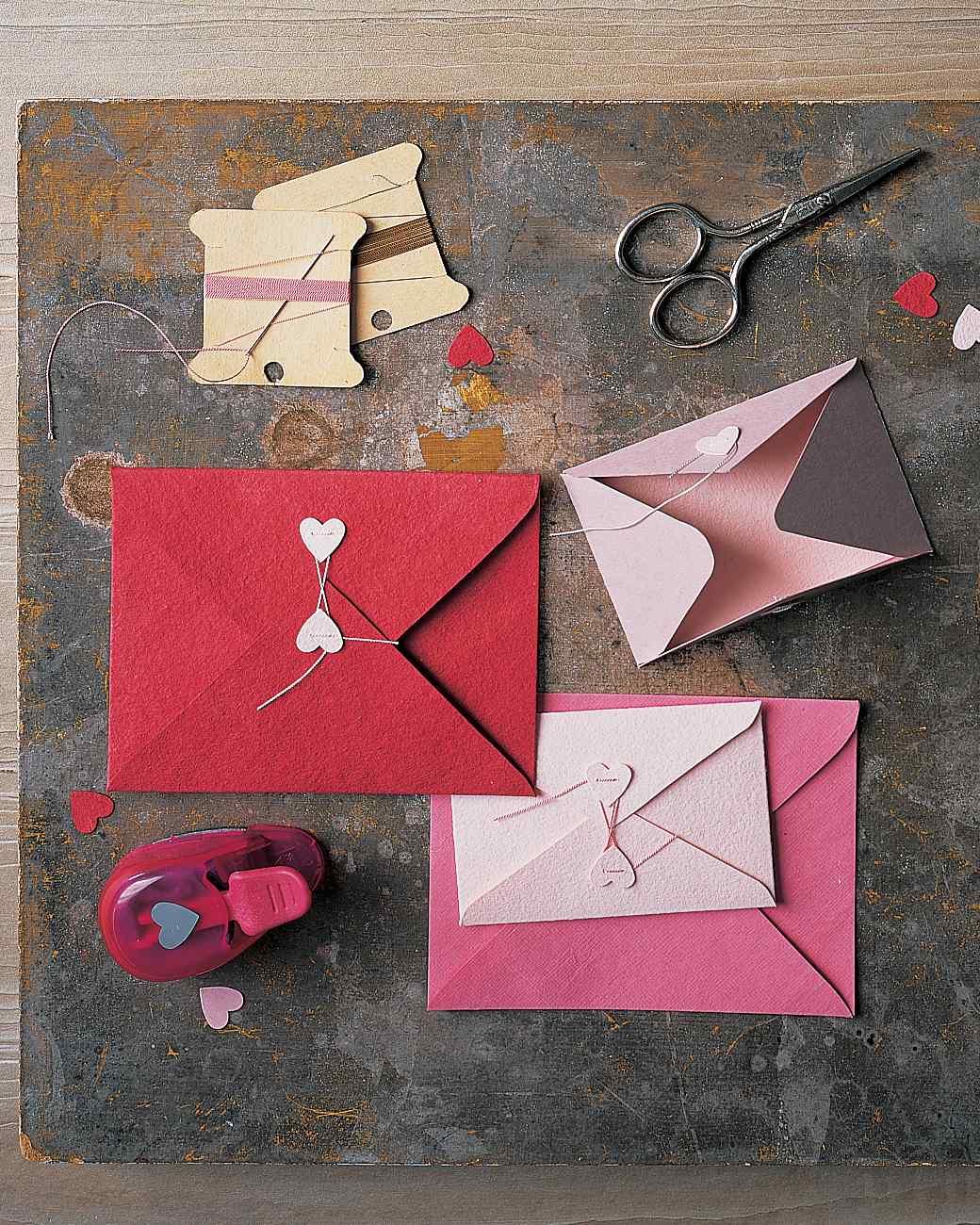 sobres decorativos para cartas de amor hechos a mano, sorpresas san valentin originales paso a paso