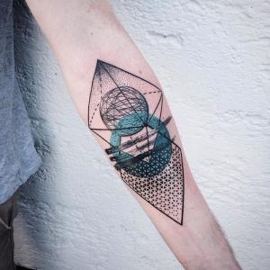 Figuras geométricas en la piel: más de 60 ideas de un tatuaje geométrico original
