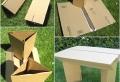 Muebles de cartón – 60 ideas que puedes realizar tu mismo