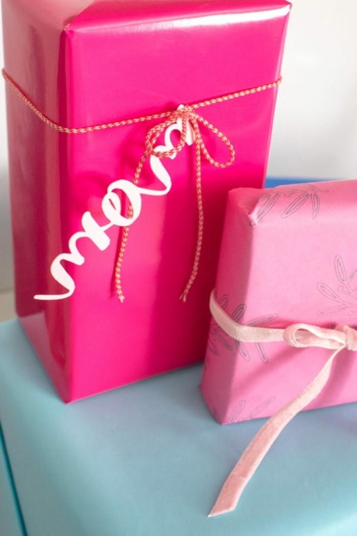 ideas para sorprender a tu mama en el Día de la madre, envolver regalos de manera encantadora