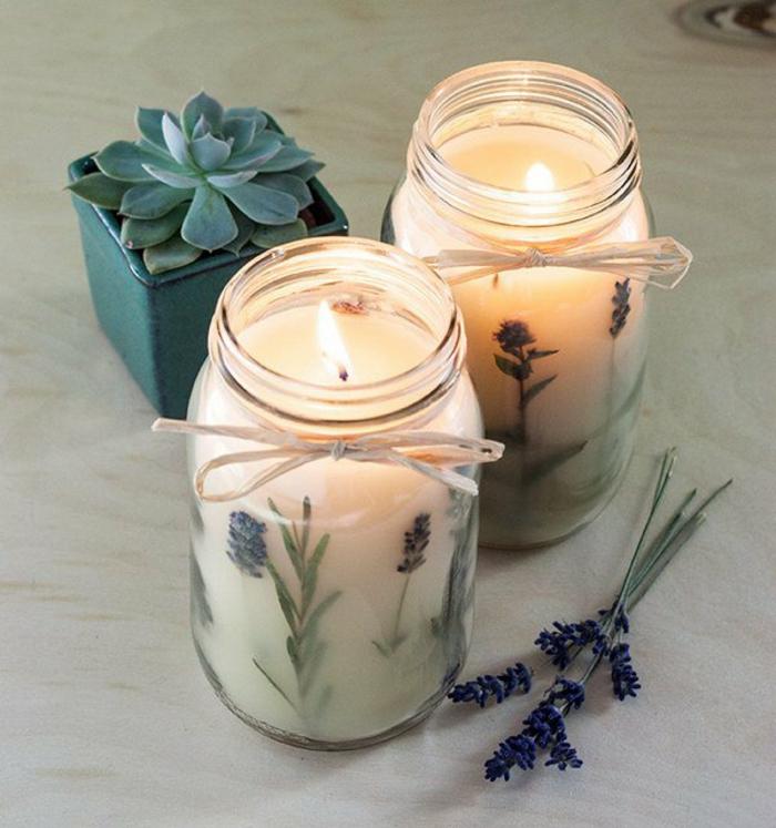ideas sobre como hacer velas románticas hechas a mano con hierbas, como hacer velas tutoriales