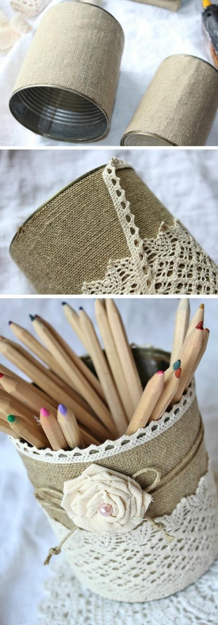 preciosas ideas de manualidades con latas para decorar la casa