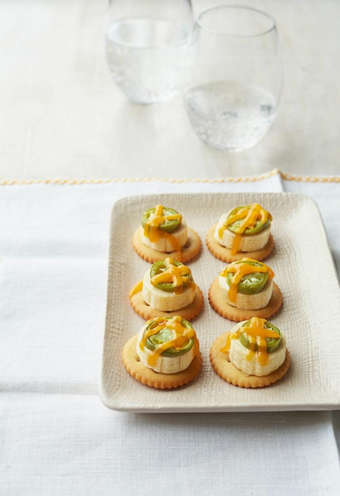 aperitivos fáciles y rápidos en 80 imagines, bocados con galleras saladas originales, entrantes faciles
